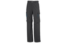 Columbia Boys Silver Ridge Convertible Pant grill/compass blue
